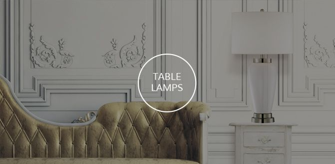Savoy House Table Lamps Collection
