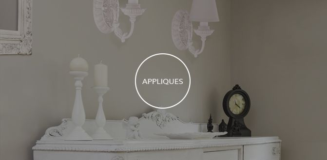 Savoy House Appliques. Essential elements to give character and personality to a stay