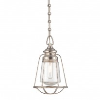 Savoy House Europe Vintage 1 Light Mini Pendant Hanging Lamp