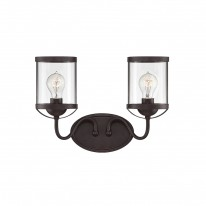 Savoy House Europe Bergen 2 Light Wall Lamp