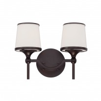 Savoy House Europe Hagen 2 Light Wall Lamp
