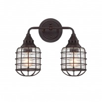 Savoy House Europe Connell 2 Light Wall Lamp
