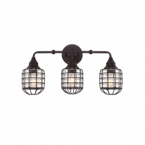 Savoy House Europe Connell 3 Light Wall Lamp