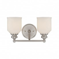 Savoy House Europe Melrose 2 Light Wall Lamp