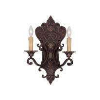 Savoy House Europe Southerby 2 Light Wall Lamp