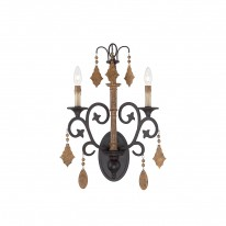 Savoy House Europe Aragon 2 Light Wall Lamp