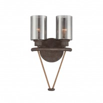 Savoy House Europe Maverick 2 Light Wall Lamp