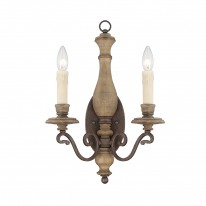 Savoy House Europe Mallory 2 Light Wall Lamp