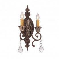 Savoy House Europe Elizabeth 2 ADA Light Wall Lamp