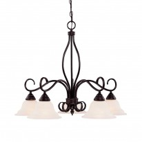 Savoy House Europe Oxford 5 Light Chandelier