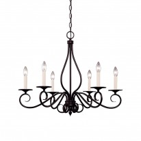 Savoy House Europe Oxford 6 Light Chandelier
