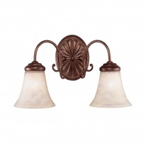 Savoy House Europe Liberty 2 Light Wall Lamp