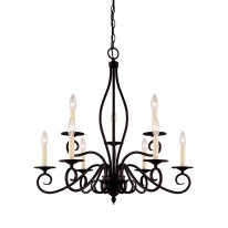 Savoy House Europe Oxford 9 Light Chandelier