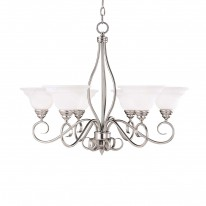 Savoy House Europe Polar 6 Light Chandelier
