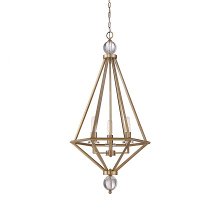 Savoy House Europe Tekoa 3-Light Pendant