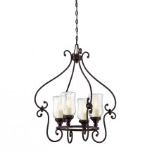 Savoy House Europe Weston 4 Light Outdoor Chandelier