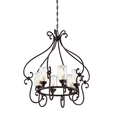 Savoy House Europe Weston 6 Light Outdoor Chandelier
