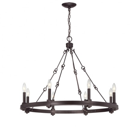 Savoy House Europe Adria 8 Light Chandelier