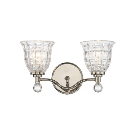 Savoy House Europe Birone 2 Light Bath Bar