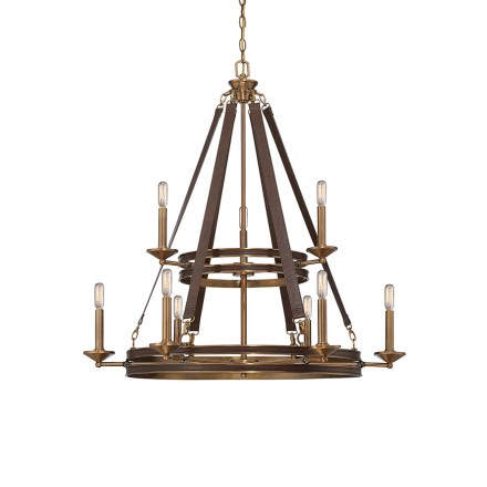 Savoy House Europe Harrington 9 Light Chandelier