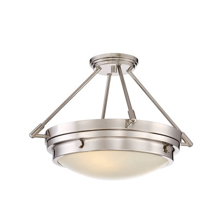Savoy House Europe Lucerne 3 Light Semi-Flush
