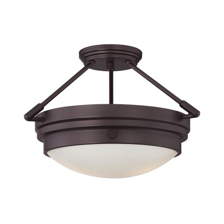 Savoy House Europe Lucerne 2 Light Semi-Flush