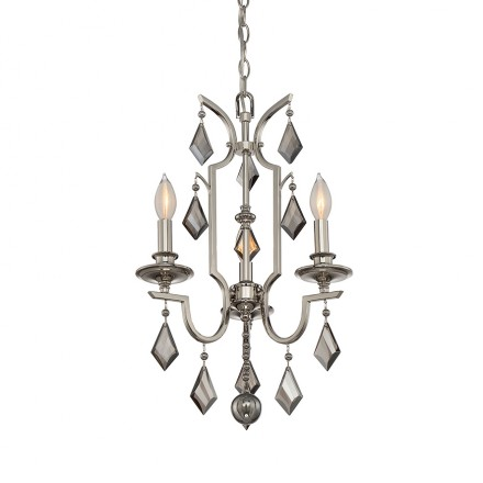 Savoy House Europe Ballard 3 Light Mini Chandelier