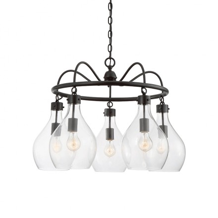 Savoy House Europe Pulaski 5 Light Chandelier