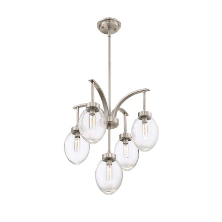 Savoy House Europe Ravenia 5 Light Chandelier