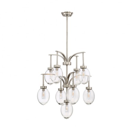 Savoy House Europe Ravenia 9 Light Chandelier