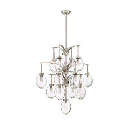 Savoy House Europe Ravenia 13 Light Chandelier