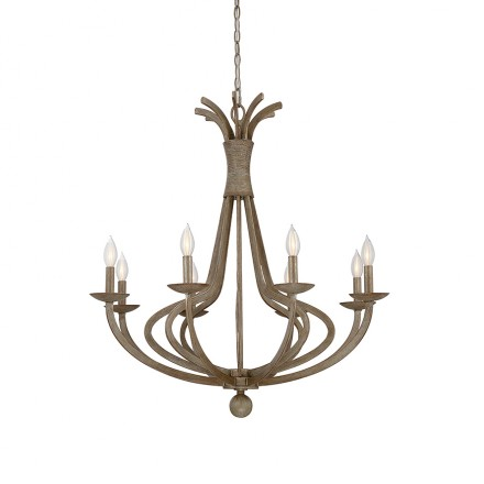 Savoy House Europe Rosette 8 Light Chandelier