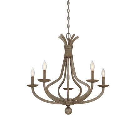 Savoy House Europe Rosette 5 Light Chandelier