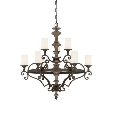 Savoy House Europe Strathmore 9 Light Chandelier