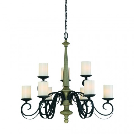 Savoy House Europe Hamlin 9 Light Chandelier