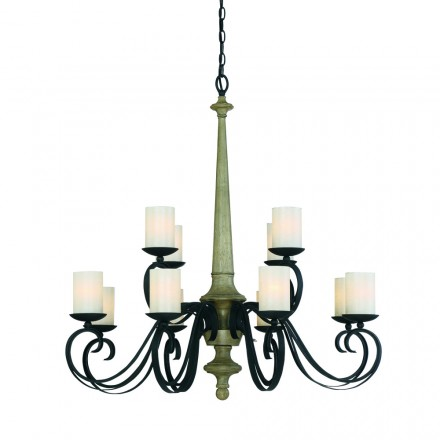 Savoy House Europe Hamlin 12 Light Chandelier
