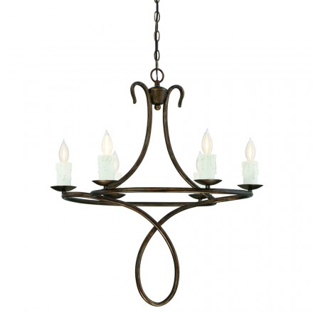 Savoy House Europe Lynch 6 Light Chandelier