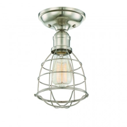 Savoy House Europe Scout 1 Light Semi-Flush