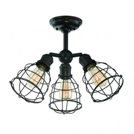 Savoy House Europe Scout 3 Light Adjustable Semi-Flush