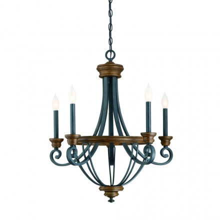 Savoy House Europe Wickham 5 Light Chandelier