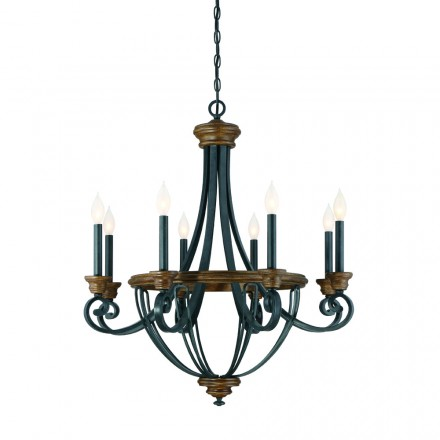 Savoy House Europe Wickham 8 Light Chandelier