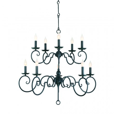 Savoy House Europe Winbrook 10 Light Chandelier