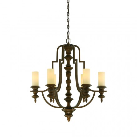 Savoy House Europe Castillo 6 Light Chandelier