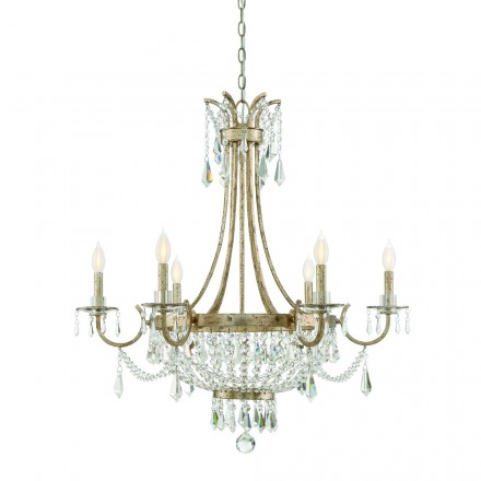 Savoy House Europe Claiborne 6 Light Chandelier