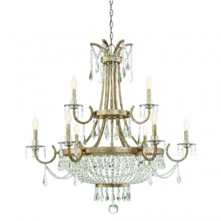 Savoy House Europe Claiborne 9 Light Chandelier