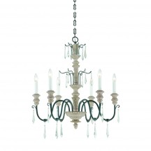 Savoy House Europe Madeliane 6 Light Chandelier