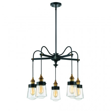 Savoy House Europe Macauley 5 Light Chandelier