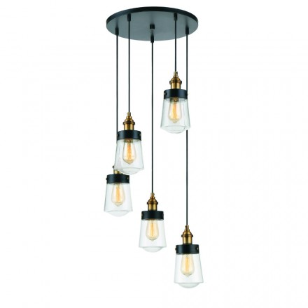 Savoy House Europe Macauley 5 Light Multi Point Pendant
