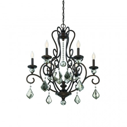 Savoy House Europe Stratton 6 Light Chandelier