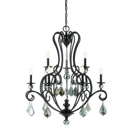 Savoy House Europe Stratton 9 Light Chandelier